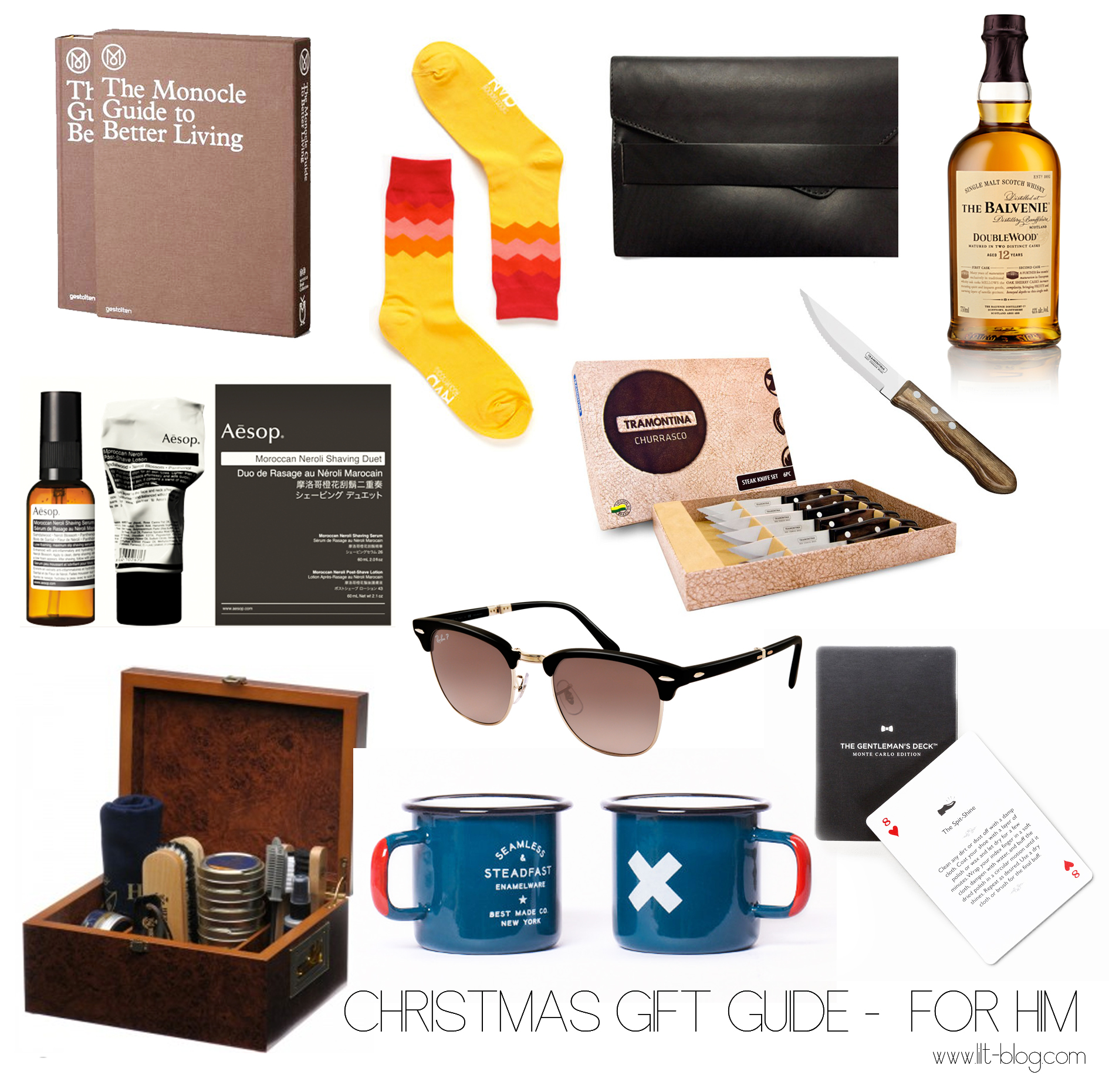 Christmas Gift Guide - For Him -