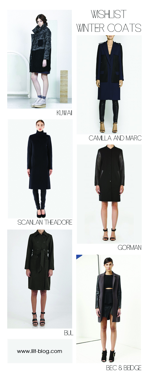 Wishlist Winter Coats