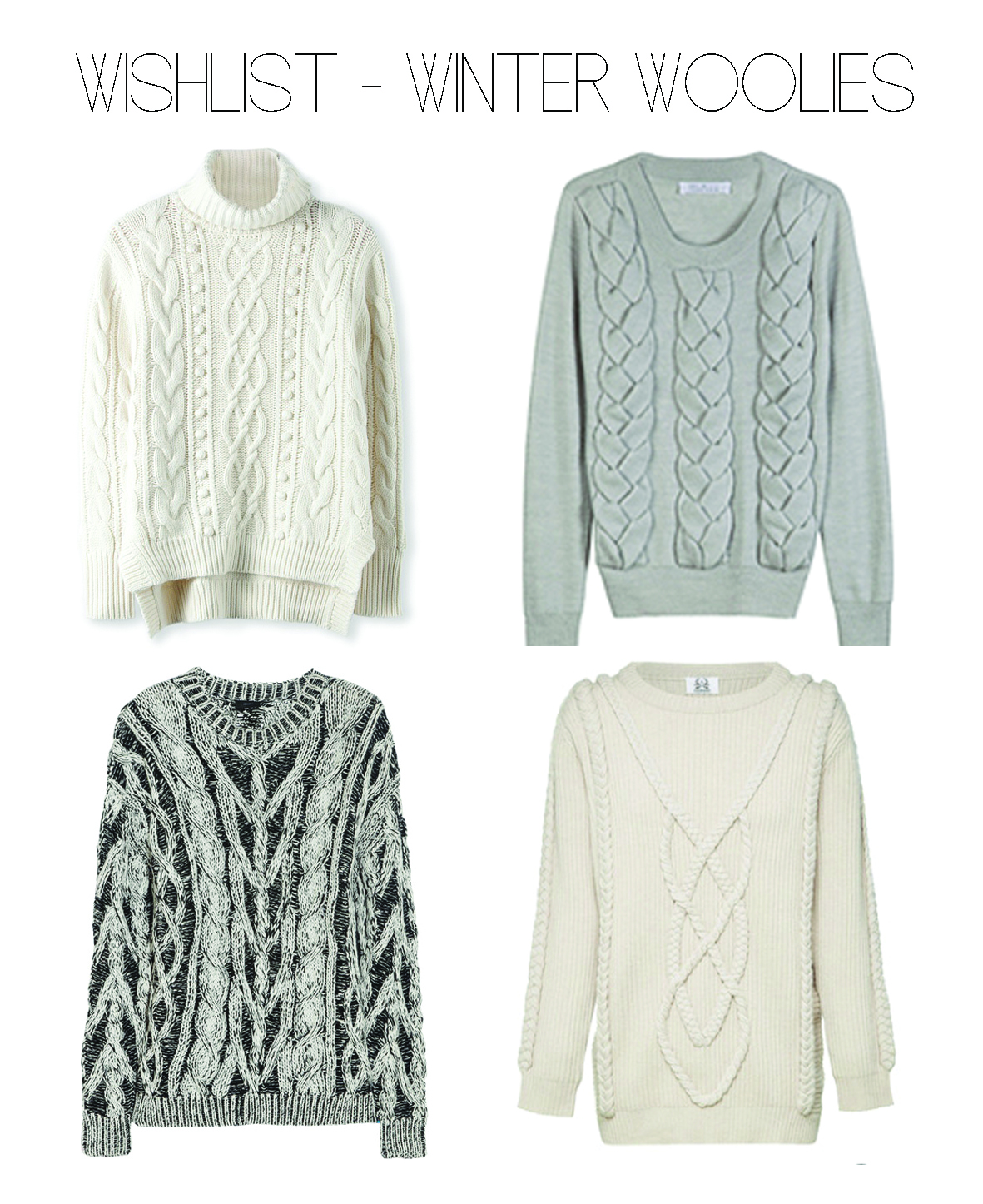 Wishlist Winter woolies