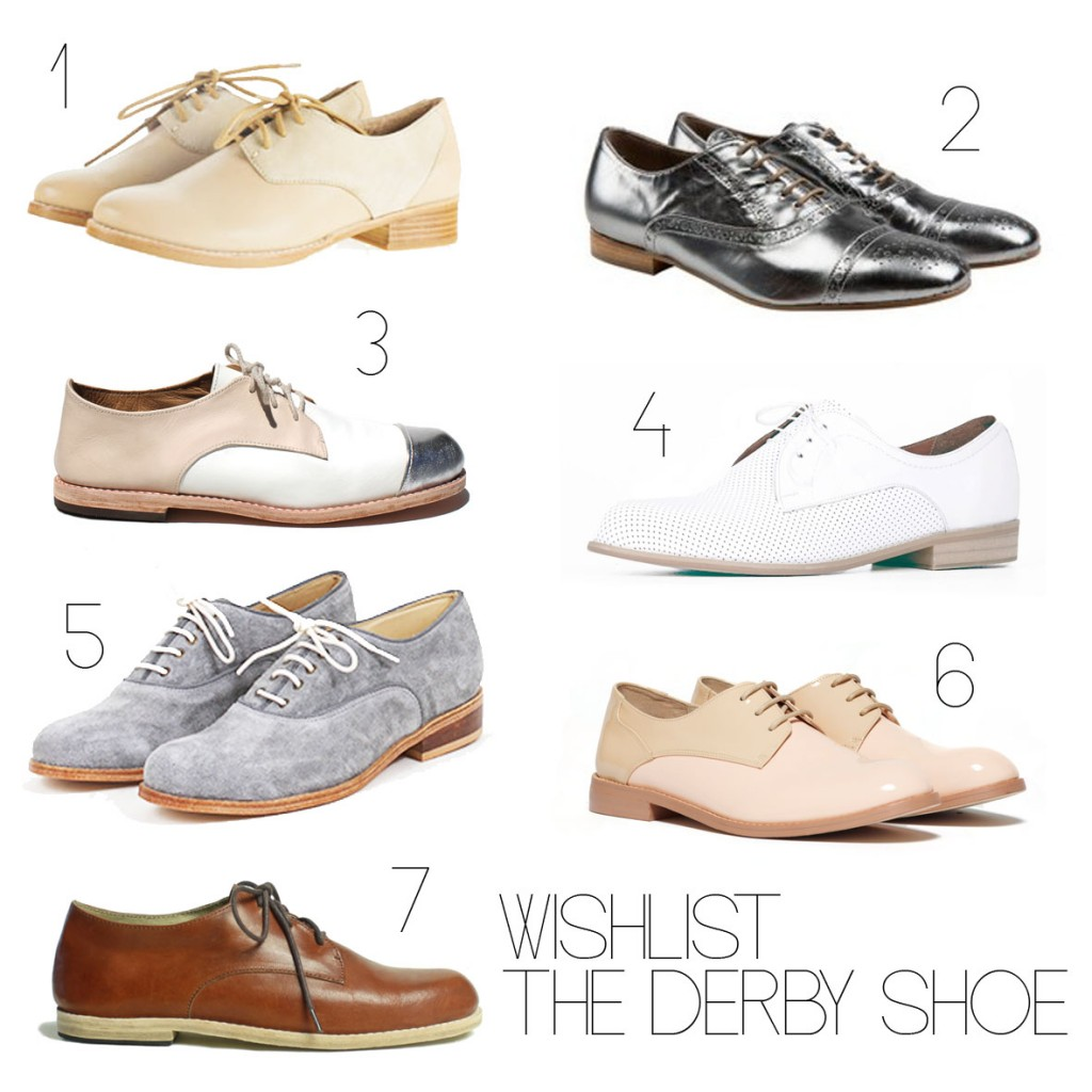 Wishlist Derby Shoe
