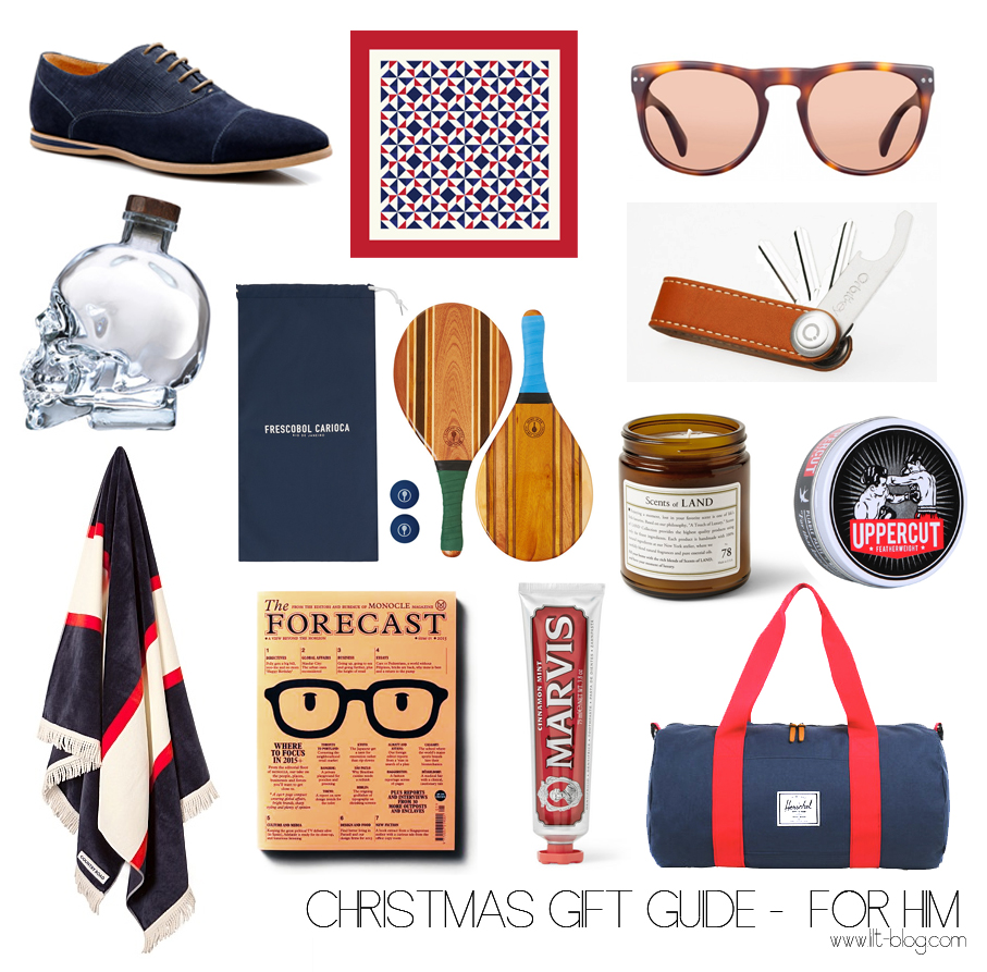Christmas Gift Guide – For Him -