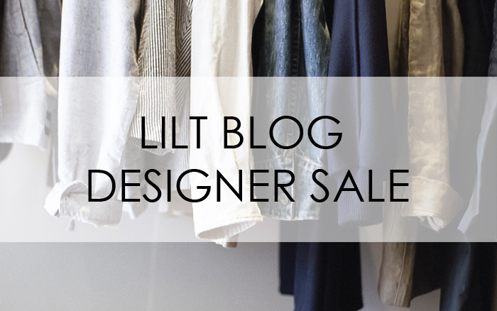 LILT BLOG DESIGNER SALE