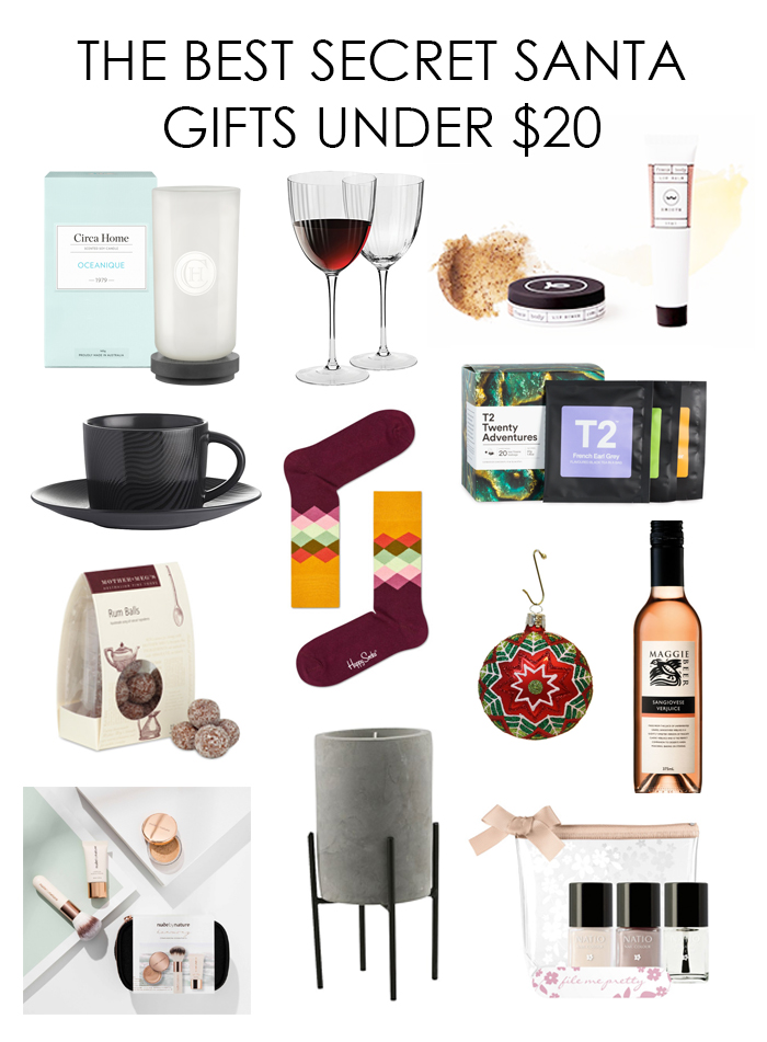 The Best Secret Santa Gifts Under 20