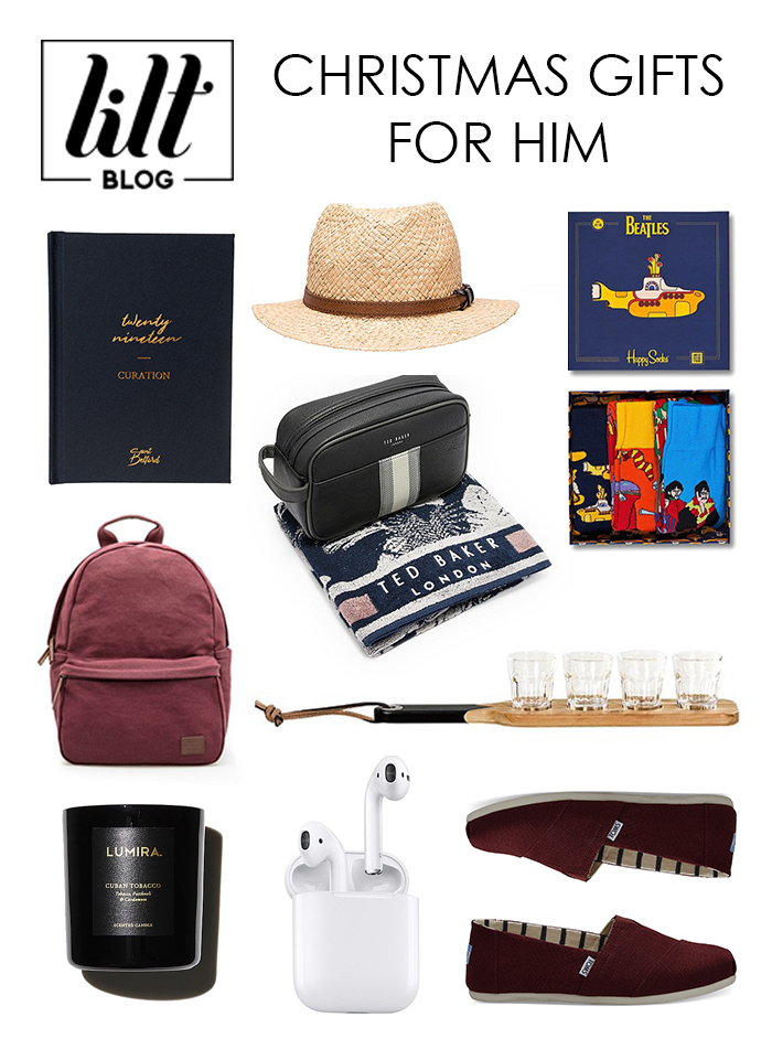 Christmas Gift Ideas For Him.Christmas Gift Guide For Him 2018